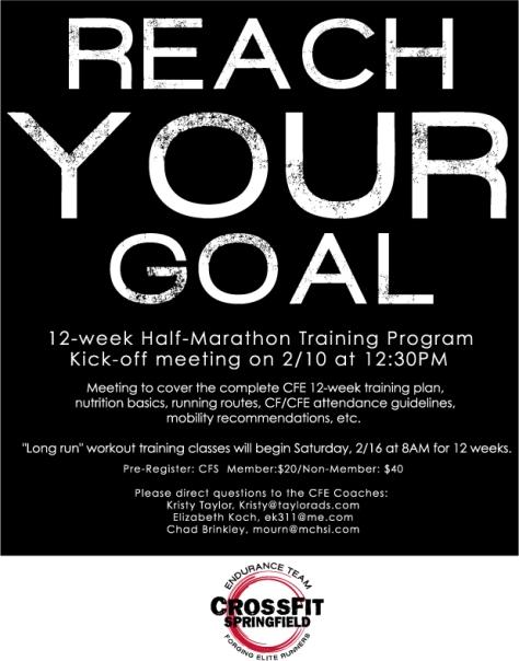 1/2 marathon flyer