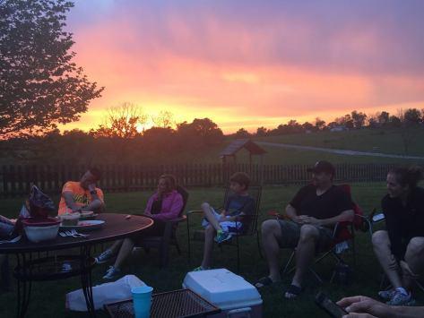 CFE BBQ Sunset