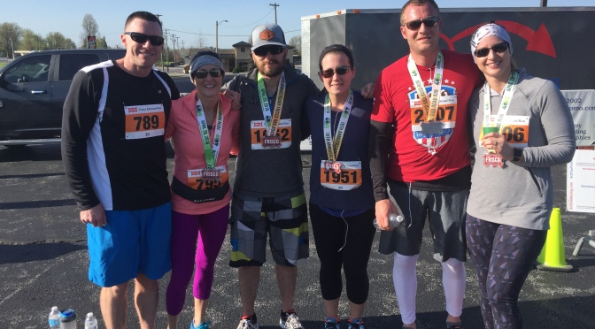 WODS for the Week of 4.29.18: Pace Calculation Revisited/OMRR Frisco Run Recap